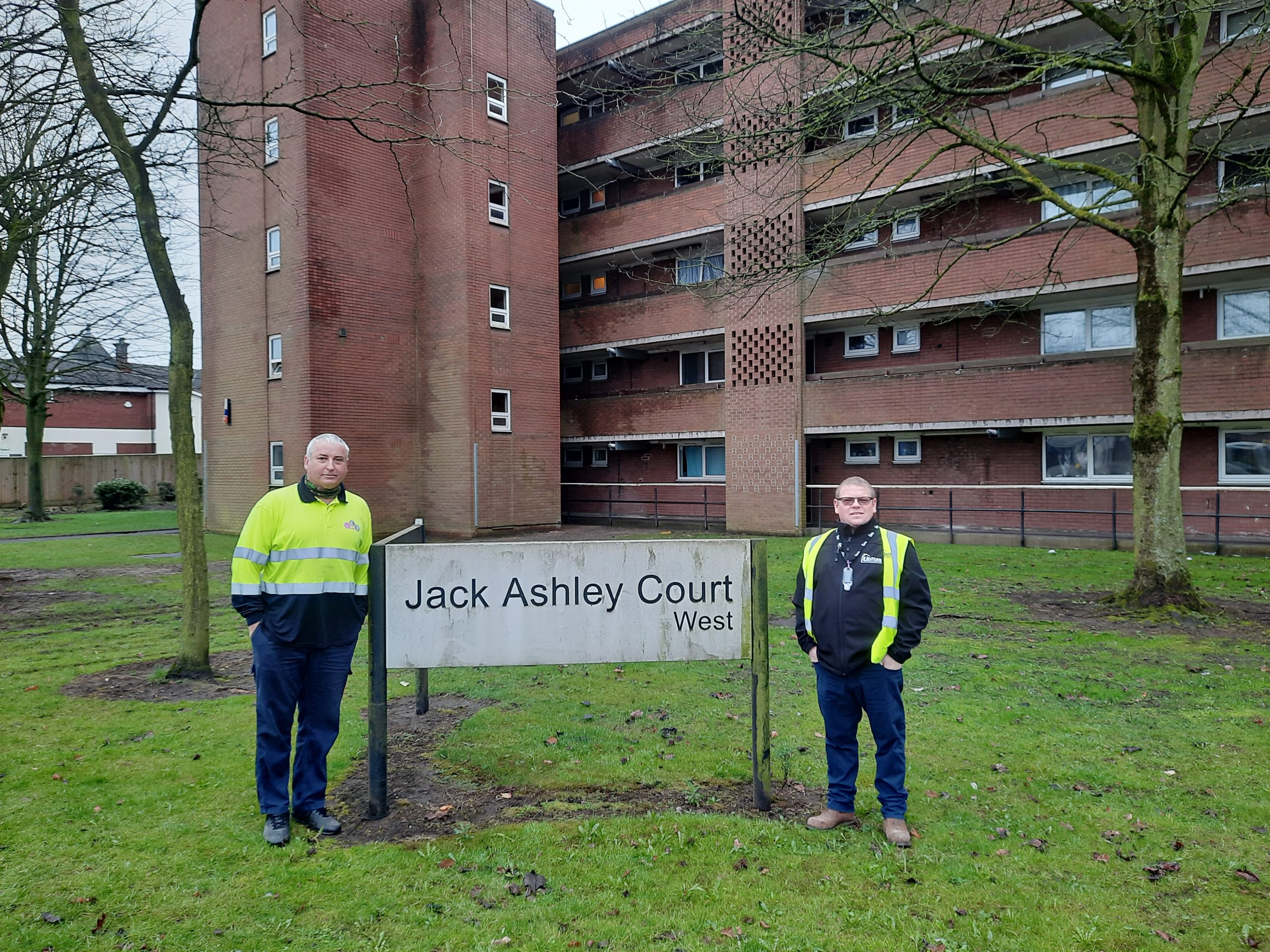 Partnership working helps restore gas to flats in record time