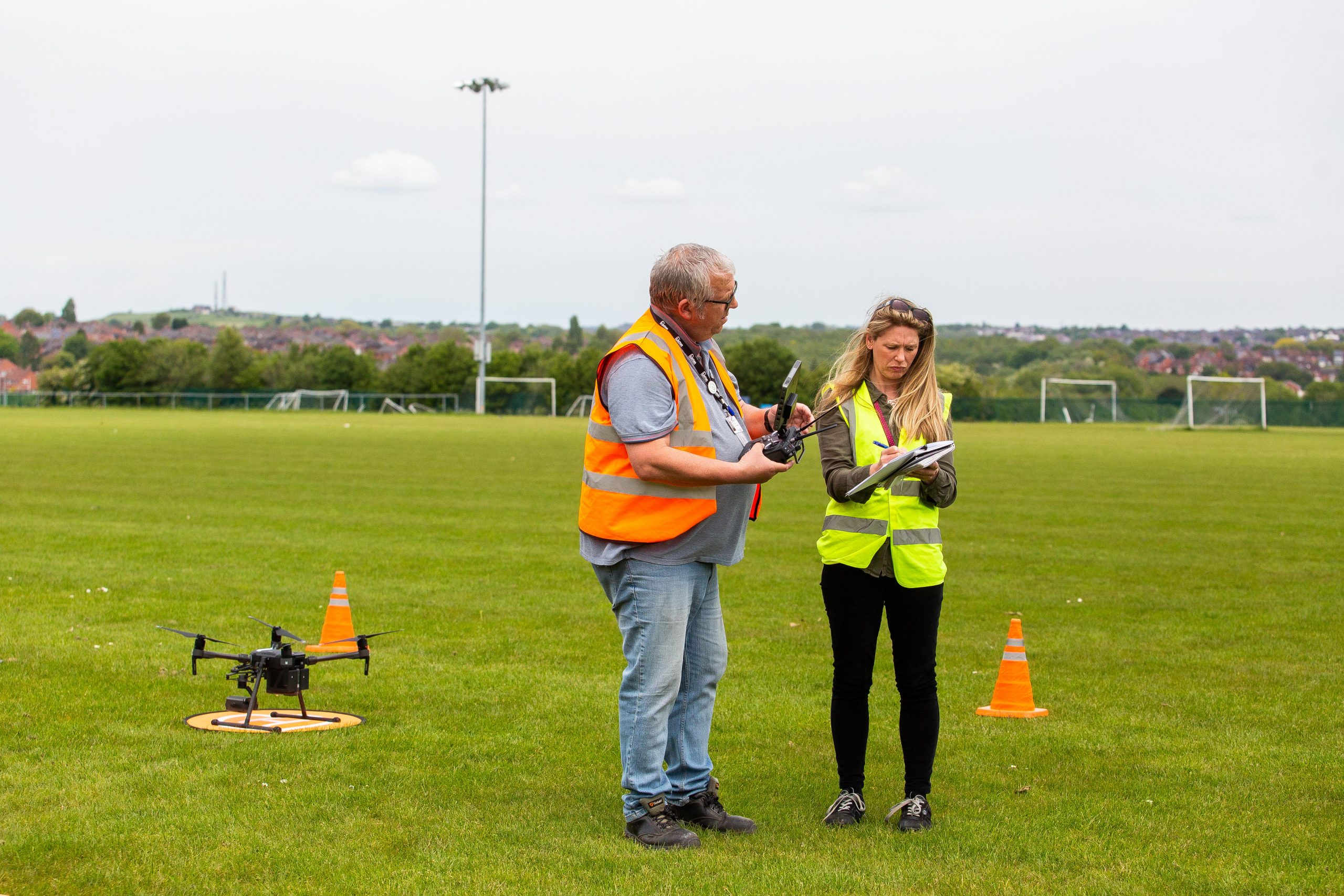 Unitas Stoke-on-Trent Fly High With New Drone Pilots