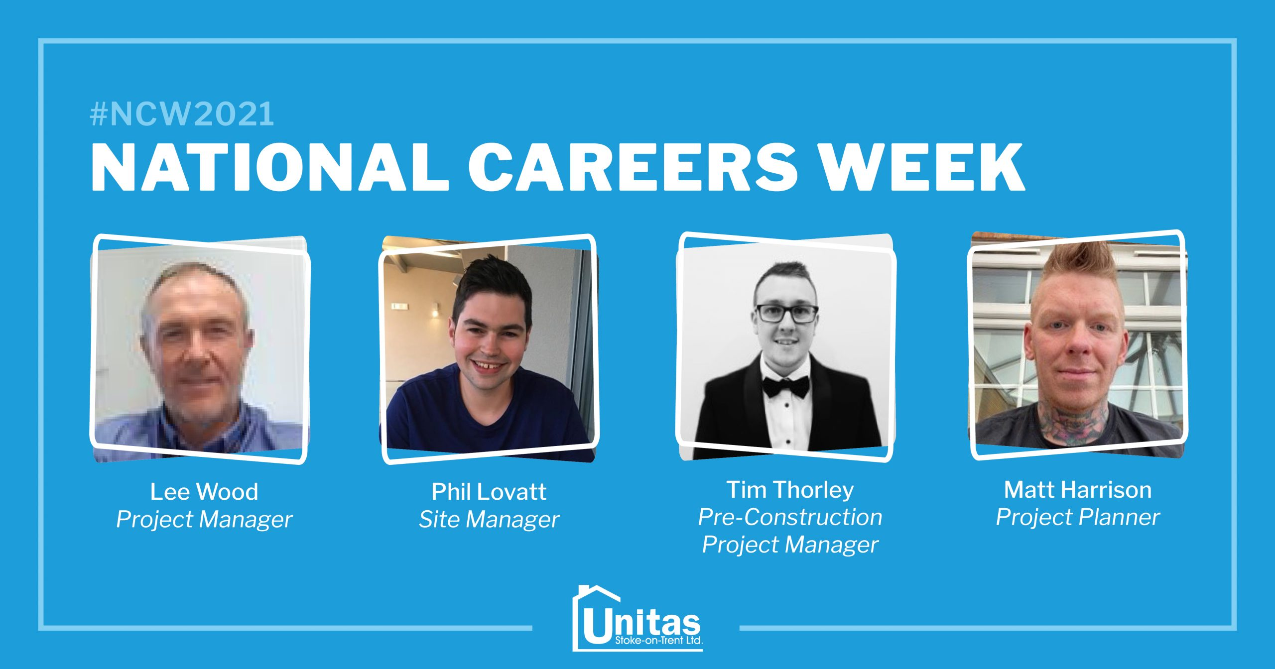 National Careers Week 2021: We speak to our staff about their career development at Unitas