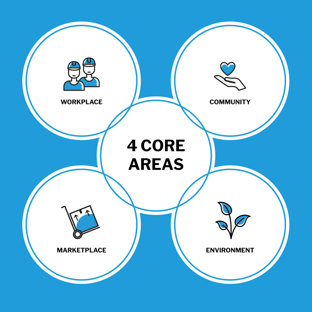 4 core areas picture